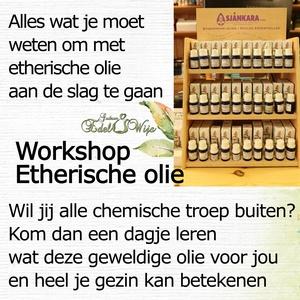 WORKSHOP etherische olie